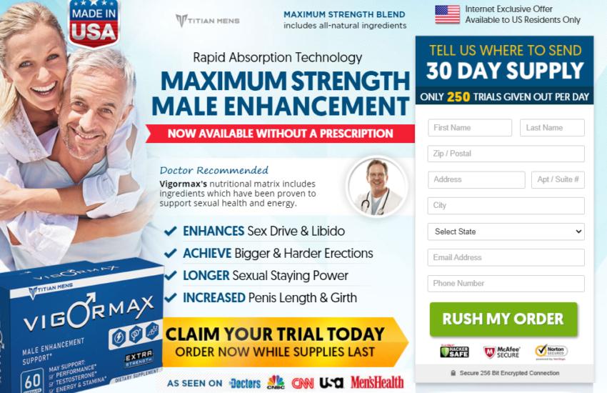VigroMax Male Enhancement Pill